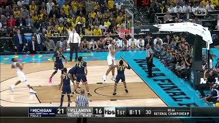 Michigan vs. Villanova: First Half Highlights