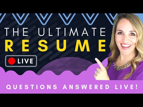 🔴 Resume Writing 2019 + BEST Resume Template & LIVE Resume Reviews