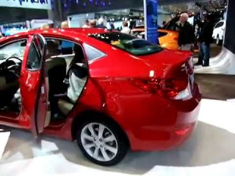 2012 Hyundai Accent Sedan at the 2011 New York International Auto Show