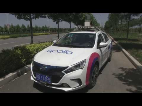 Baidu Apollo Project - self-driving cars tested on public roads