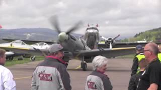 Air Show / Flydager Kjeller Norway 2017 -  Supermarine Spitfire MK XVI