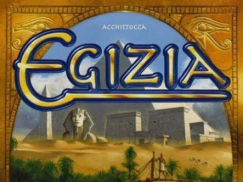 Egizia Board Game Review - Rio Grande