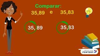Comparação de números decimais