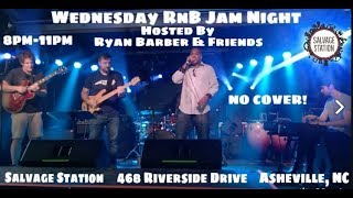 Wednesday RnB Jam Night @ Salvage Station 9-6-2017
