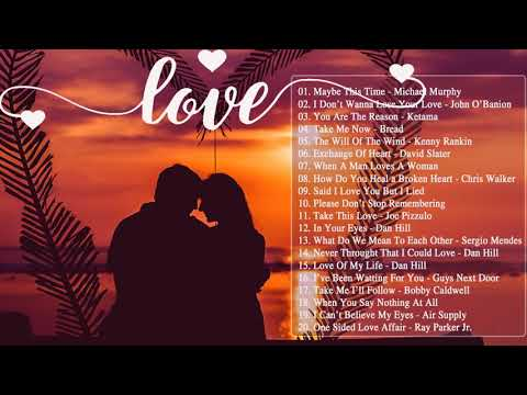 The Best Beautiful English Love Songs Collection - Greatest Old Love Songs Of All Time
