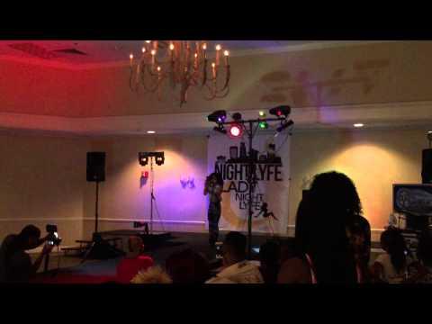 Nevaeh at the Nightlyfe Fashion Show!! Akron , Ohio ., Cherographed by Dejan Tubic and Zack Venegas