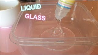 dIY Как сделать прозрачный лизун без тетрабората?
