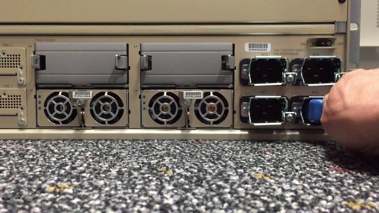 Cisco Catalyst 6807-XL power socket issue