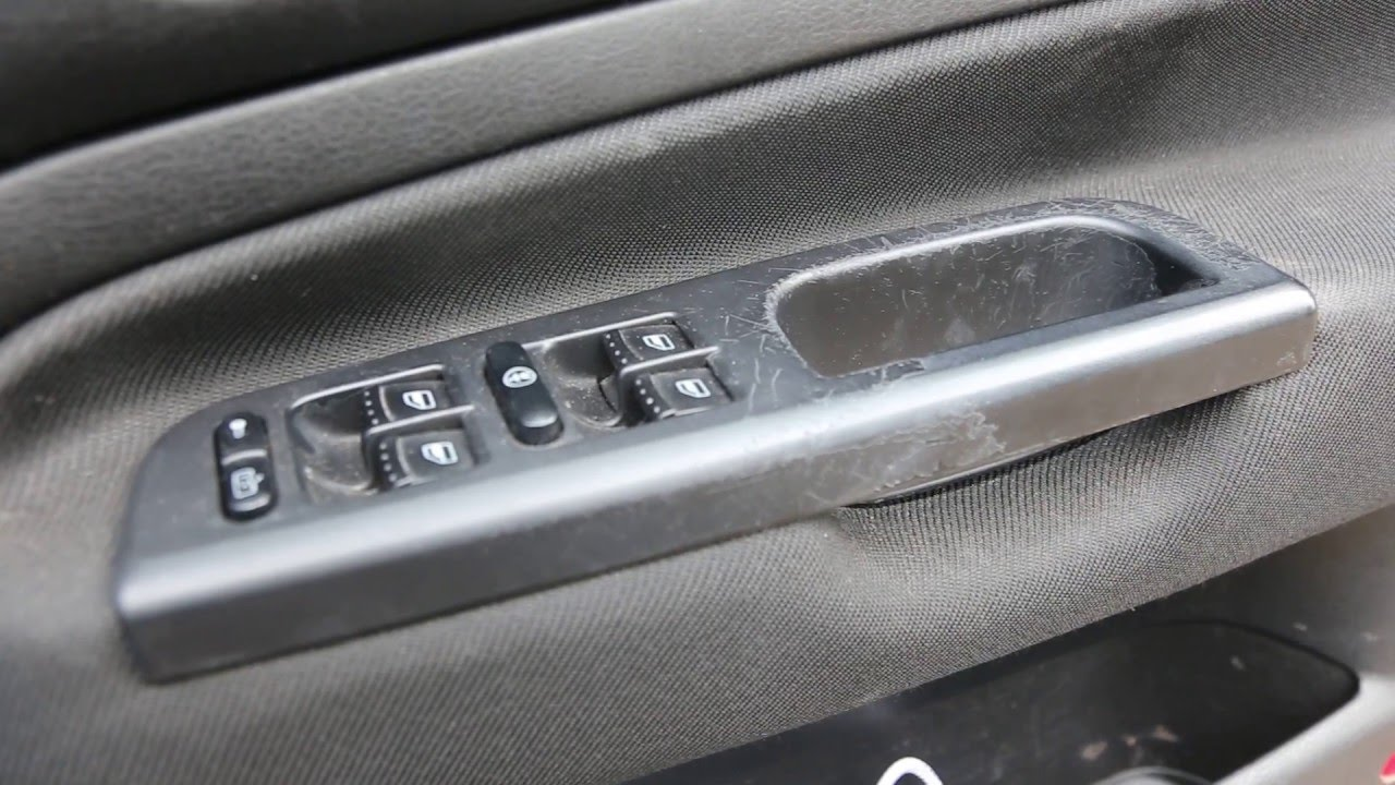 How To Replace Interior Door Handle Vw Golf Mk4