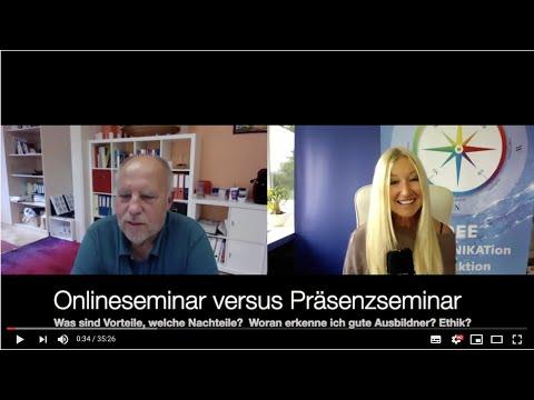 Online- versus Präsenzseminare - Yvonne van Dyck im Gespräch mit Hermann Krottenmaier