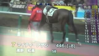2014/4/20福島4R サラ系障害4歳以上 2750m 芝(混合) 未勝利