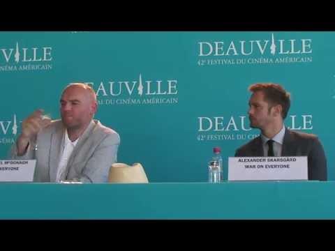 FCAD 2016: Conférence de presse War On Everyone (Michael Peña, Alexander Skarsgård)