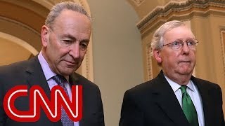 McConnell blocks Senate Democrats' move to reopen government