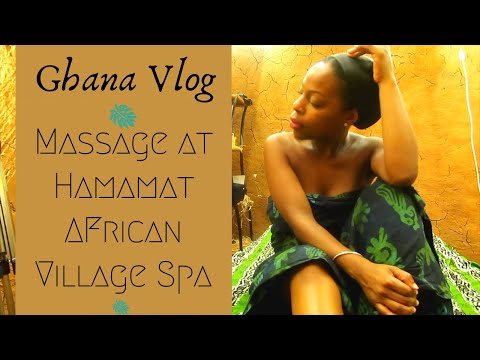 Massage at Hamamat Village Spa Ghana