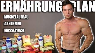 ERNÄHRUNG - So erreichst du deinen Traumkörper | + Ernährungsplan und Supplements