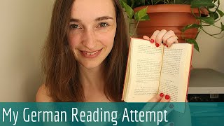 Soft Spoken German Book Reading & Page Flipping - ASMR