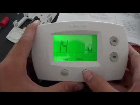 hook up heat pump thermostat