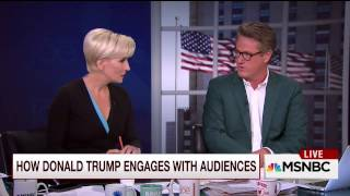 Mike Barnicle describes the enthrallment with Donald Trump's public speaking style (26 August 2015)