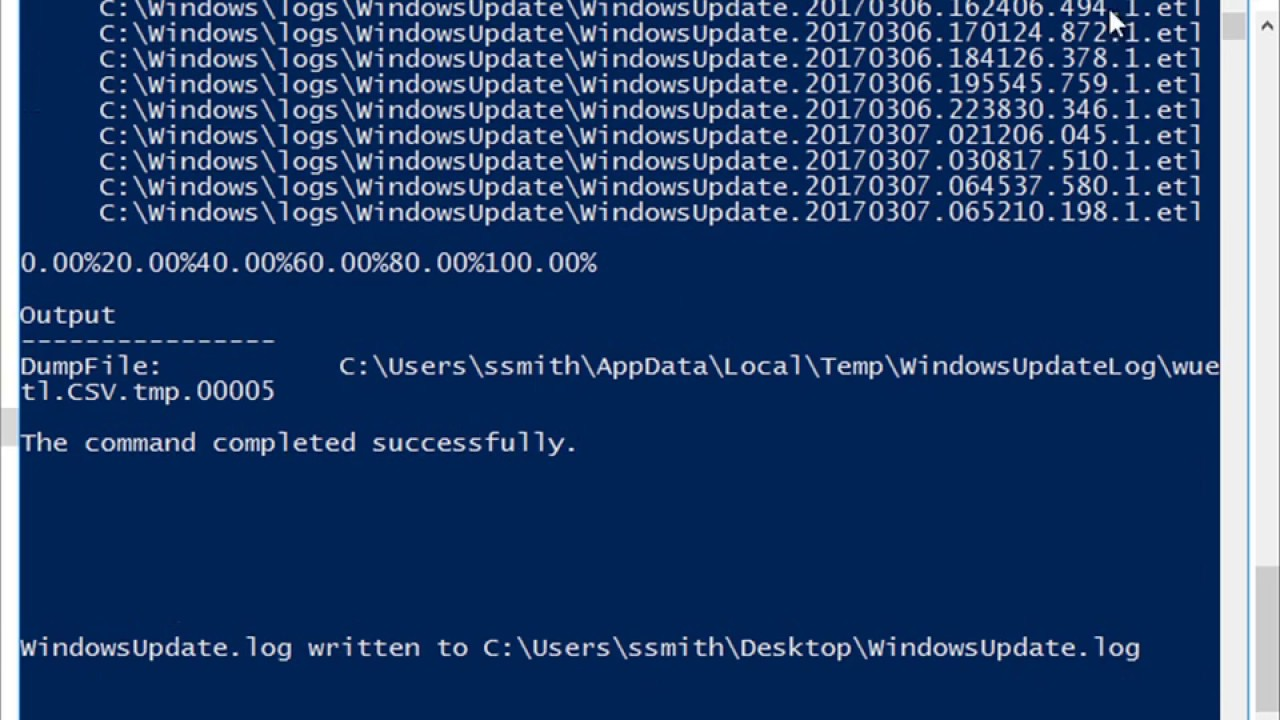 Troubleshooting a Failed Windows Update Installation - WSUS 2016