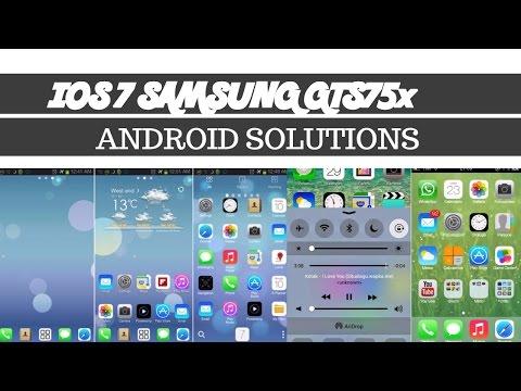 IOS  7 Rom  (Themed) | Samsung Galaxy S Duos 2 /Trend Plus