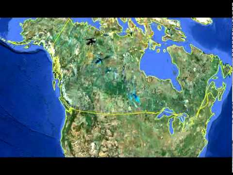 Location Of Niagara Falls (Google Earth)