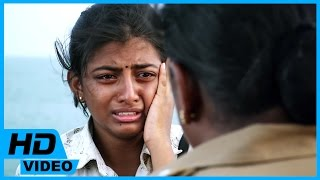 Kayal Tamil Movie - Police Officer warns Anandhi to go back home
