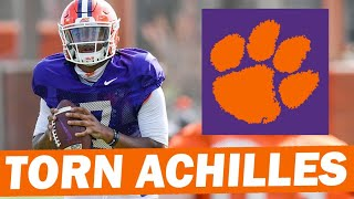 Clemson Quarterback Situation Following Taisun Phommachanh's Torn Achilles