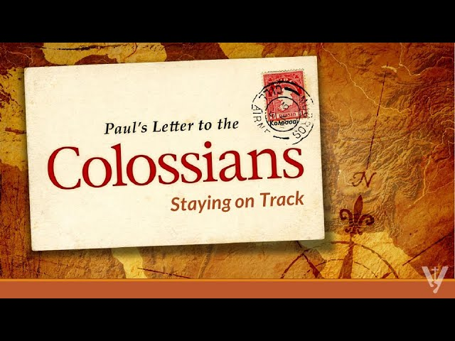 Living It Out at Work: Colossians, Part 9 · 210328 Sunday PM · Brother Ross Kilfoyle