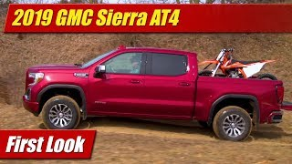 2019 GMC Sierra AT4 Off-Road: First Look