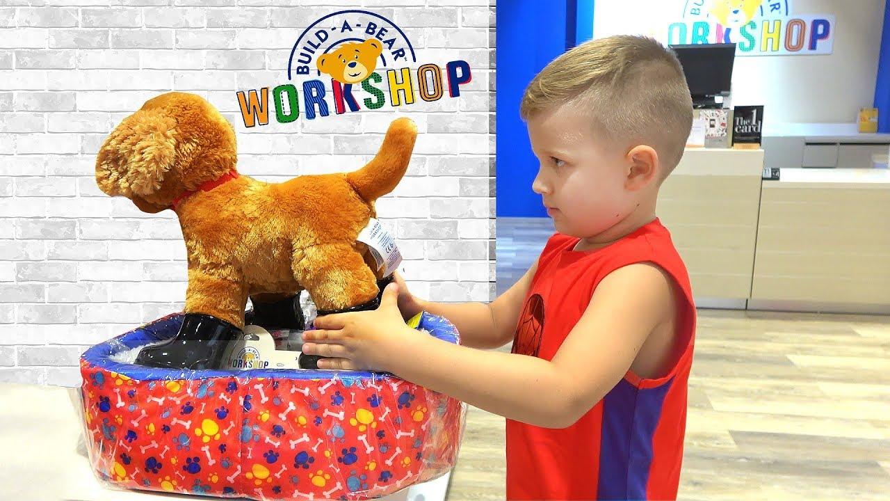 Рома Диана и новые Игрушки Щенок и Единорог  Roma and Diana make toys - Puppy and the Unicorn
