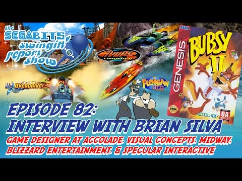 Swingin' Report Show #82: Interview with Brian Silva of Visual Concepts, Midway, Accolade