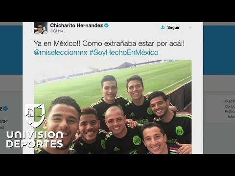 Los jugadores mexicanos mostraron en las redes lo bien que la pasan en la selección