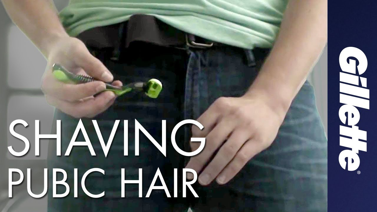 Shave way hair to pubic How to
