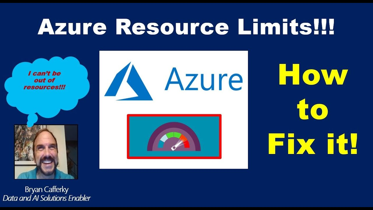 Hitting and Resolving Azure Resource Limits!