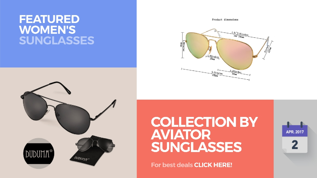 6a6f9d9d96 Collection By Aviator Sunglasses Featured Women s Sunglasses - YouTube