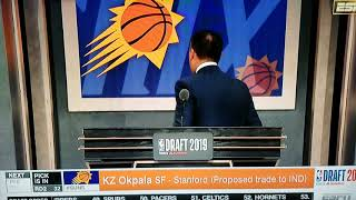 The suns draft KZ okpala at 32