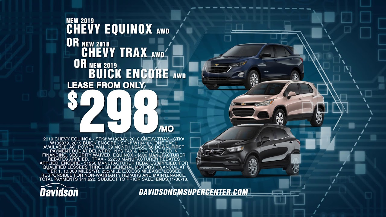 Cyber Monday Chevy And Buick Davidson Gm Rome Ny Youtube