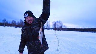 Едем на рыбалку на ГАЗ 66 Наша ПЕРВАЯ ЗИМНЯЯ ЛОВЛЯ Начало