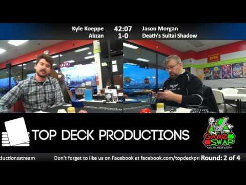 Modern 3/14/17: Kyle Koeppe (Abzan) vs Jason Morgan (Sultai Death's Shadow)