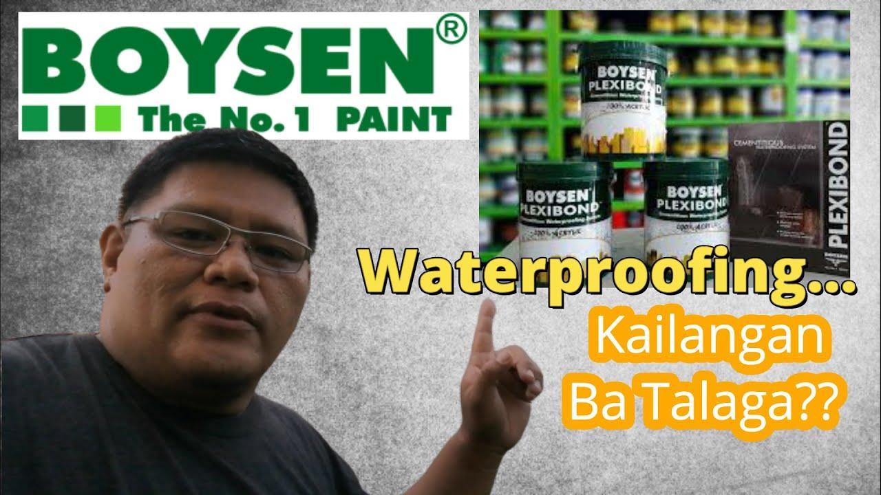 Waterproofing Sa Pader (Boysen Plexibond Waterproofing)