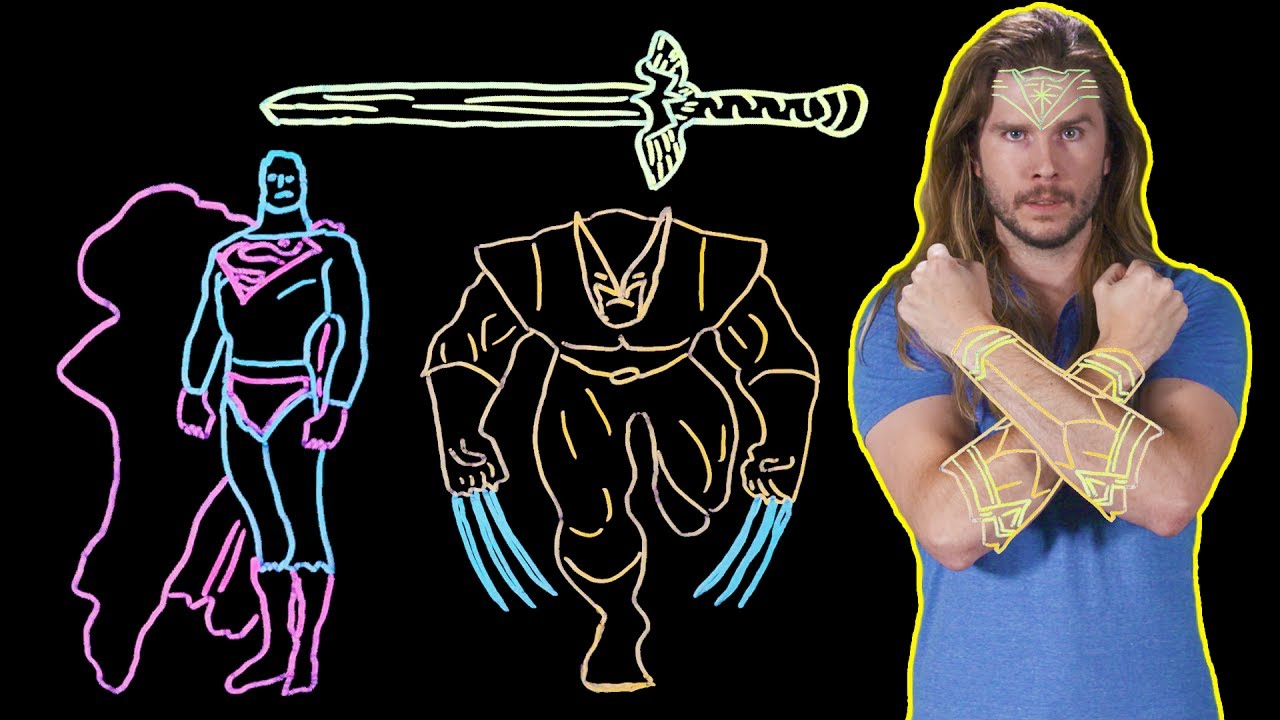 Why Wonder Woman's Sword Can Cut Through Anything! (Because Science w/ Kyle Hill)