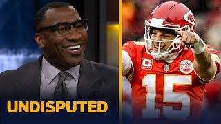 Mahomes should be ranked as the best QB over Rodgers or Brady — Shannon Sharpe | NFL | UNDISPUTED