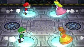 Mario Party 9 - All Minigames - Mario vs Peach vs Luigi vs Daisy (Master Difficulty)