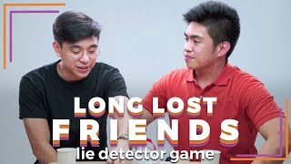 Long Lost Friends Play a Lie Detector Drinking Game   Filipino   Rec•Create