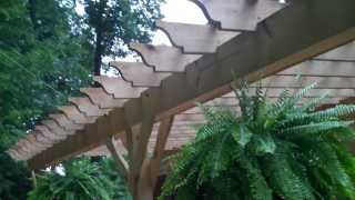 Stacy Boyd Built An Awesome Pergola On My Back Patio.
