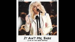 kesha   it aint me babe live at billboard music awards 2016   audio