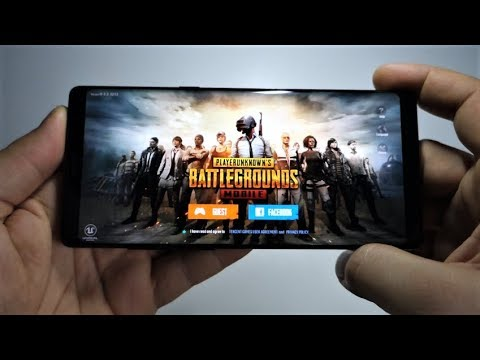 PUBG Mobile - PlayerUnknown's Battlegrounds - Galaxy Note 8 Exynos gameplay
