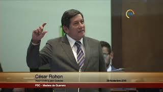 César Rohon - Sesión 557 - #Proforma2019