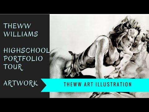 High School Art Portfolio Tour! for The Colorado Art Institute