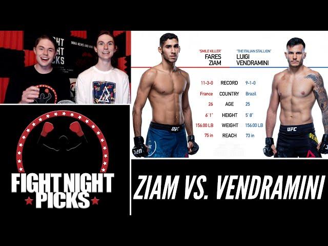 UFC 263: Fares Ziam vs. Luigi Vendramini Prediction
